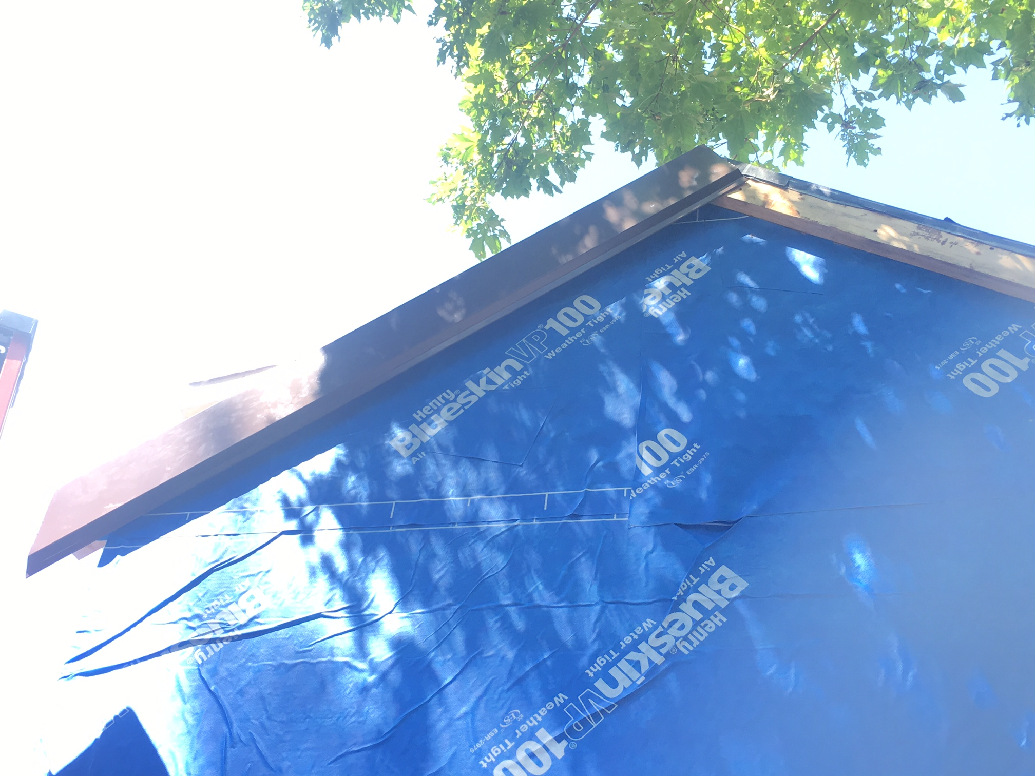 Beautiful Last Fall Just After The House Walls Went Up, I Was Trolling Craigslist For  Materials When A Kind Soul Posted Dark Brown Corrugated Metal Roofing For  Sale, ...